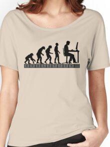 computer evolution Women's Relaxed Fit T-Shirt
