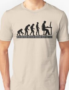 computer evolution Unisex T-Shirt