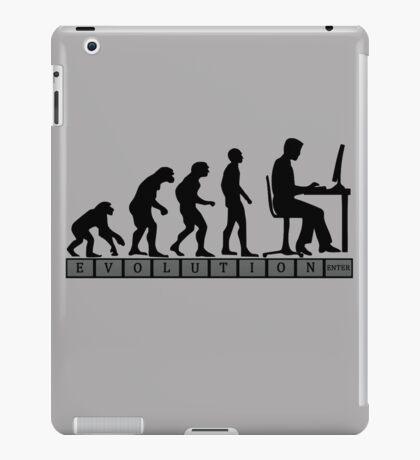 computer evolution iPad Case/Skin