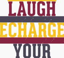 Grunge motivational poster Sticker