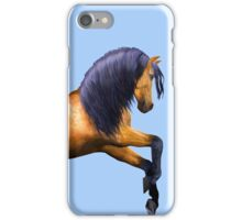 Buckskin Stallion  iPhone Case/Skin