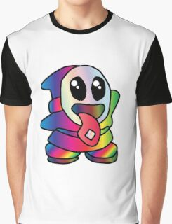 Not So Shy Guy Trippy Graphic T-Shirt