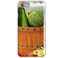Eggs and vegetables iPhone Case/Skin