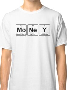 Mo Ne Y - Money - Periodic Table - Chemistry - Chest Classic T-Shirt