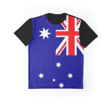 Australia Flag Graphic T-Shirt