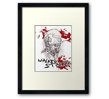 The Walking Dead - Walker Stalker Framed Print