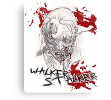 The Walking Dead - Walker Stalker Canvas Print