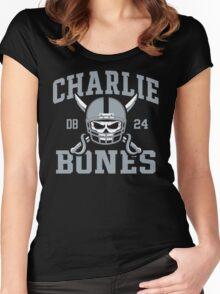 Charlie Bones  Women's Fitted Scoop T-Shirt