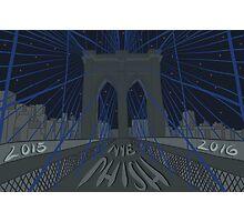 Phish NYE MSG NYC Brooklyn Bridge Photographic Print