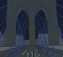 Phish NYE MSG NYC Brooklyn Bridge Sticker