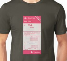 Ticket to Wick  Unisex T-Shirt