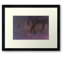 Dance me to end of love. Framed Print