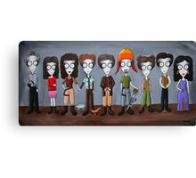 Firefly Characters, spookified. Canvas Print