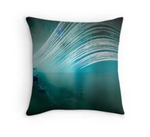 6 month exposure overlooking the Beachy head lighthouse. Throw Pillow