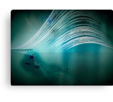 6 month exposure overlooking the Beachy head lighthouse. Canvas Print
