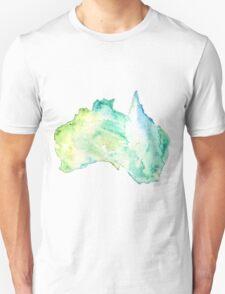Australia Watercolor  Unisex T-Shirt