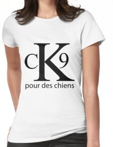 CK9 for Dogs Womens Fitted T-Shirt