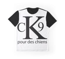 CK9 for Dogs Graphic T-Shirt