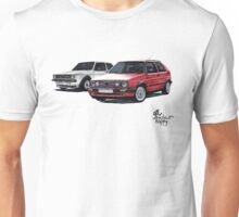 Golf GTI mk1 mk2 Unisex T-Shirt
