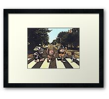 Wild on Abbey Road Framed Print