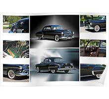 1950 Oldsmobile Rockett 88 Coupe Poster