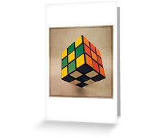 Cube of Rube  Greeting Card