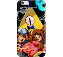 Dipper Mabel and Bill Cipher iPhone Case/Skin