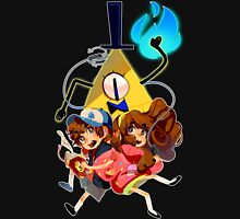 Dipper Mabel and Bill Cipher T-Shirt