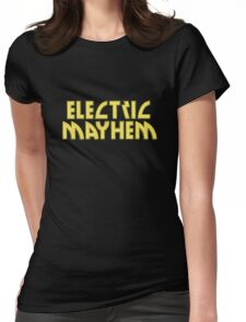 Electric Mayhem Womens Fitted T-Shirt
