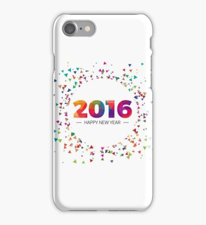 2016 - Happy New Year iPhone Case/Skin