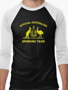 AUSTRALIAN DRINKING TEAM Men's Baseball ¾ T-Shirt
