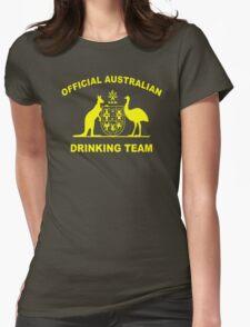 AUSTRALIAN DRINKING TEAM Womens Fitted T-Shirt