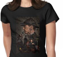 Sherlock Christmas special Womens Fitted T-Shirt