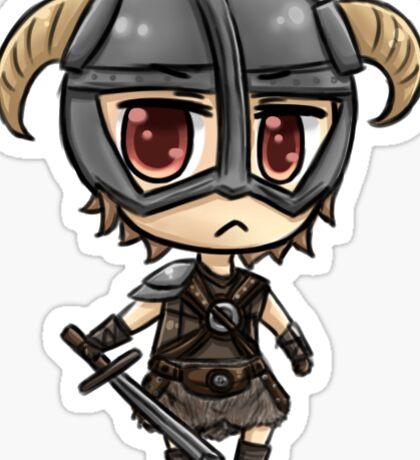 Cute Dragonborn Sticker