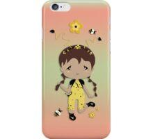 Cute Bee Girl iPhone Case iPhone Case/Skin