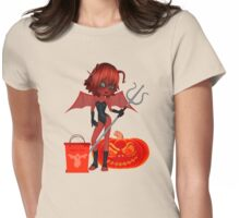 Ready for Halloween  Womens Fitted T-Shirt