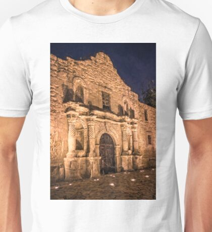 Alamo Door Painterly Unisex T-Shirt