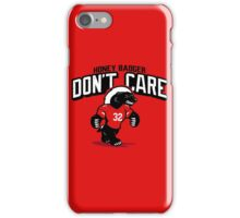 The Badger Don't Care iPhone Case/Skin
