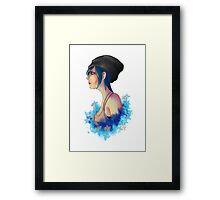 Chaos Theory ft. Chloe Price Framed Print