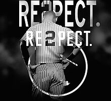 derek Jeter Respect 2 by SallyDunfee
