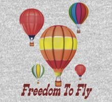 Freedom To Fly  One Piece - Long Sleeve