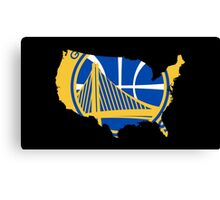 Golden State is USA ?? Canvas Print