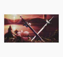 SAO - Kirito and Asuna's swords Kids Clothes