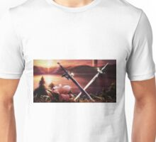 SAO - Kirito and Asuna's swords Unisex T-Shirt