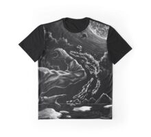 Waterbending in the Moonlight Graphic T-Shirt