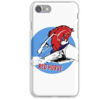Expeditionary Red Horse Group iPhone Case/Skin