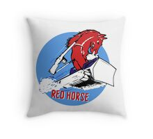 Expeditionary Red Horse Group Throw Pillow