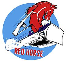 Expeditionary Red Horse Group Photographic Print