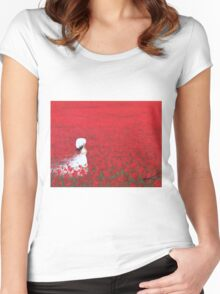 Being a Woman #2 Women's Fitted Scoop T-Shirt