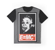 Einstein Obey  Graphic T-Shirt